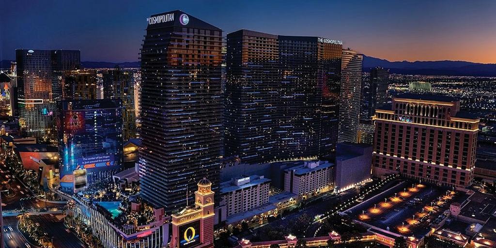 Staying in Vegas' the Cosmopolitan
