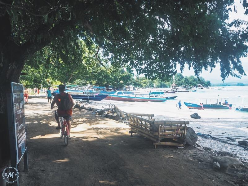 Gili Trawangan Itinerary cycling 2