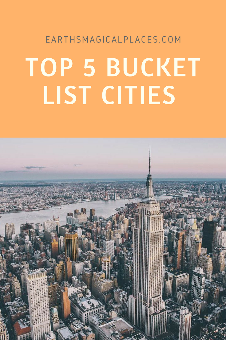 We all should have a travel bucket list of cities we want to visit before we die. But, need inspiration to help imagine dream adventures? Then check out this post which brings together beautiful places and ideas from around the world.
