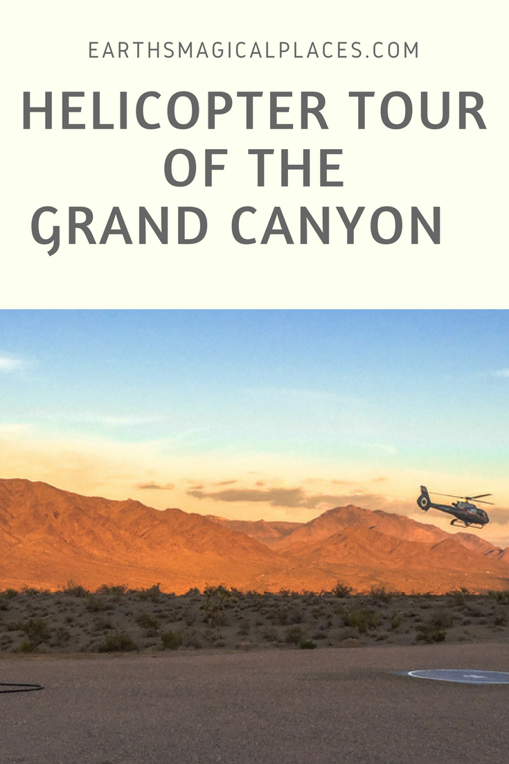 When taking a road trip through Arizona, there's one place that you must absolutely stop: The Grand Canyon. Whats the best way to see the canyon? By helicopter of course! Read this post for tips on taking your very own helicopter tour over the grand canyon!