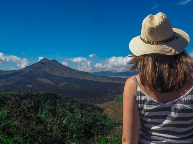 Places to visit in Ubud Mount Batur