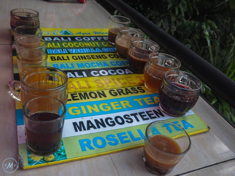 Ubud attractions Luwak Coffee