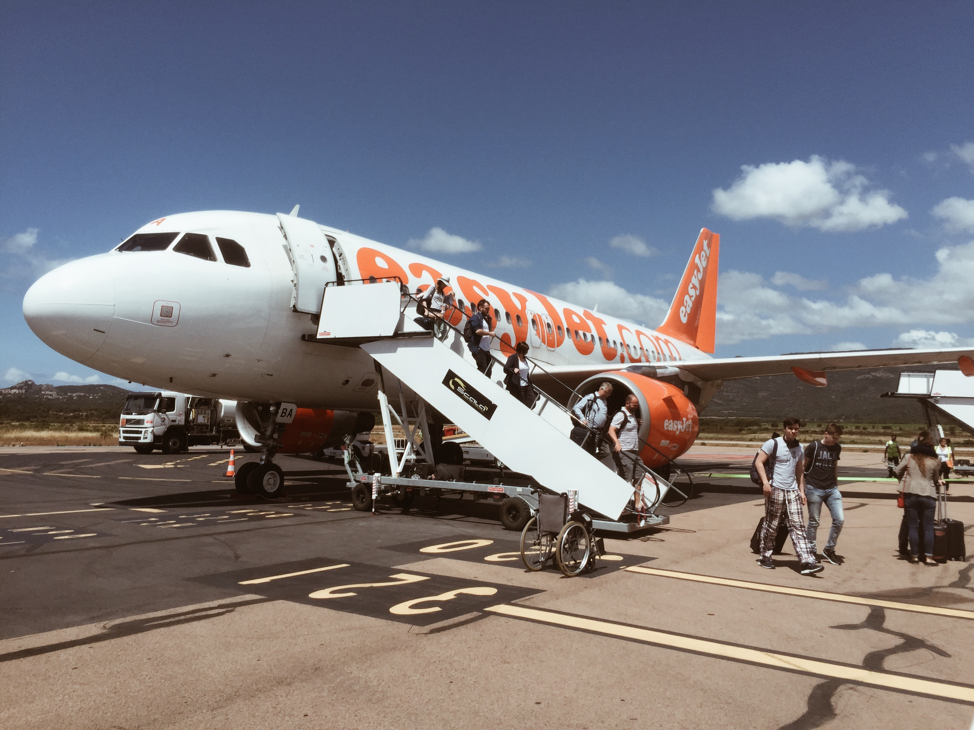 Easyjet flight review