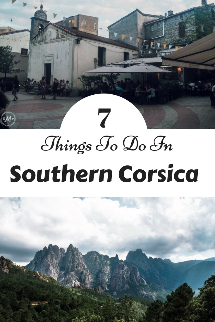 Corsica France is full of amazing things to do! Especially near the small town of Porto Vecchio. From going to the Beach to exploring the mountains and visiting Bonifacio, this post is your guide to all the best things there is to do!