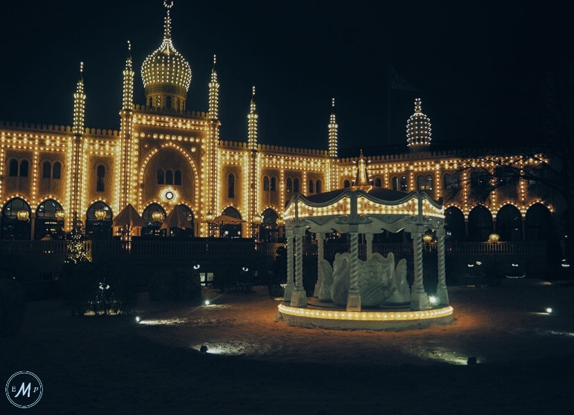 winter in Copenhagen - Tivoli Gardens at Christmas