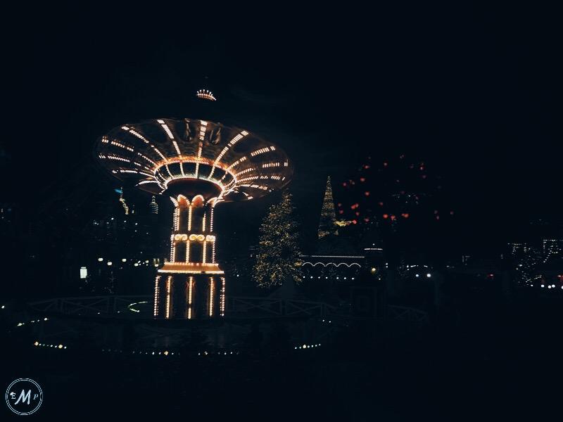 winter in Copenhagen - Tivoli Gardens at Christmas two