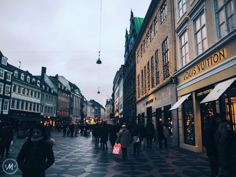 places to visit in Copenhagen - the Strøget