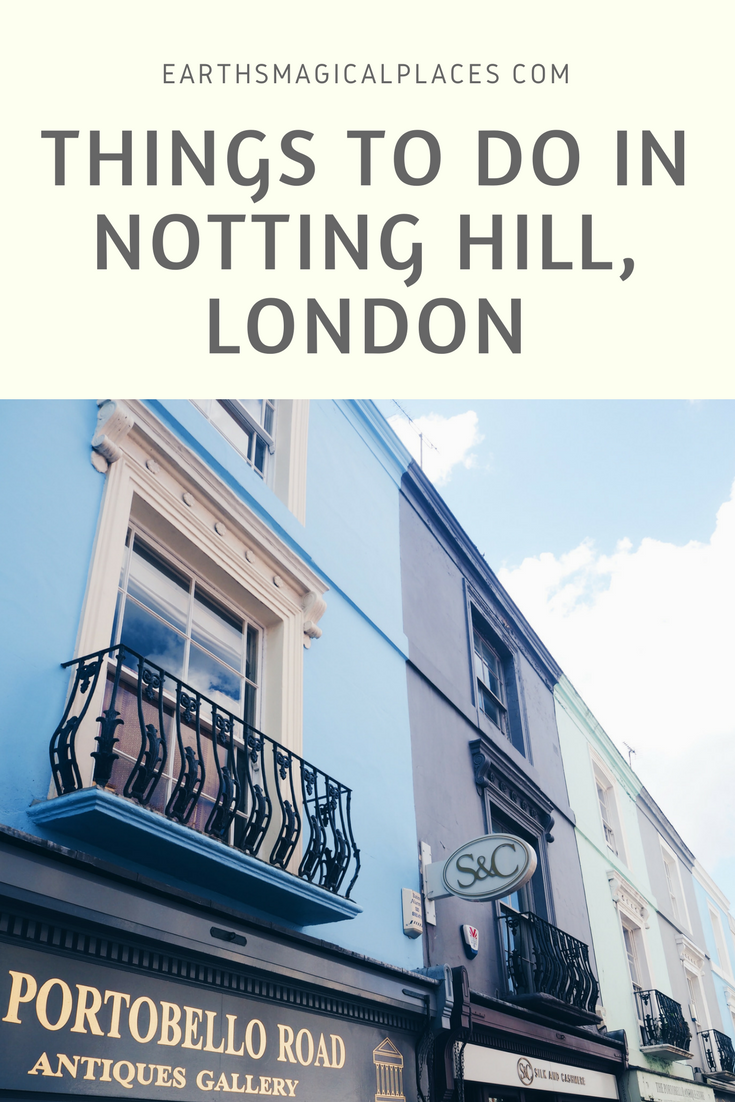 Notting Hill, London was made famous by the film/movie of the same name. This picture perfect neighbourhood is a must visit for a photoshoot. But Notting Hill has much more to offer! Read this post to learn about the electric cinema, the best shops, food and brunch spots in Noting Hill as well as a guide to Portobello market. #travel #London #Photography #NottingHill