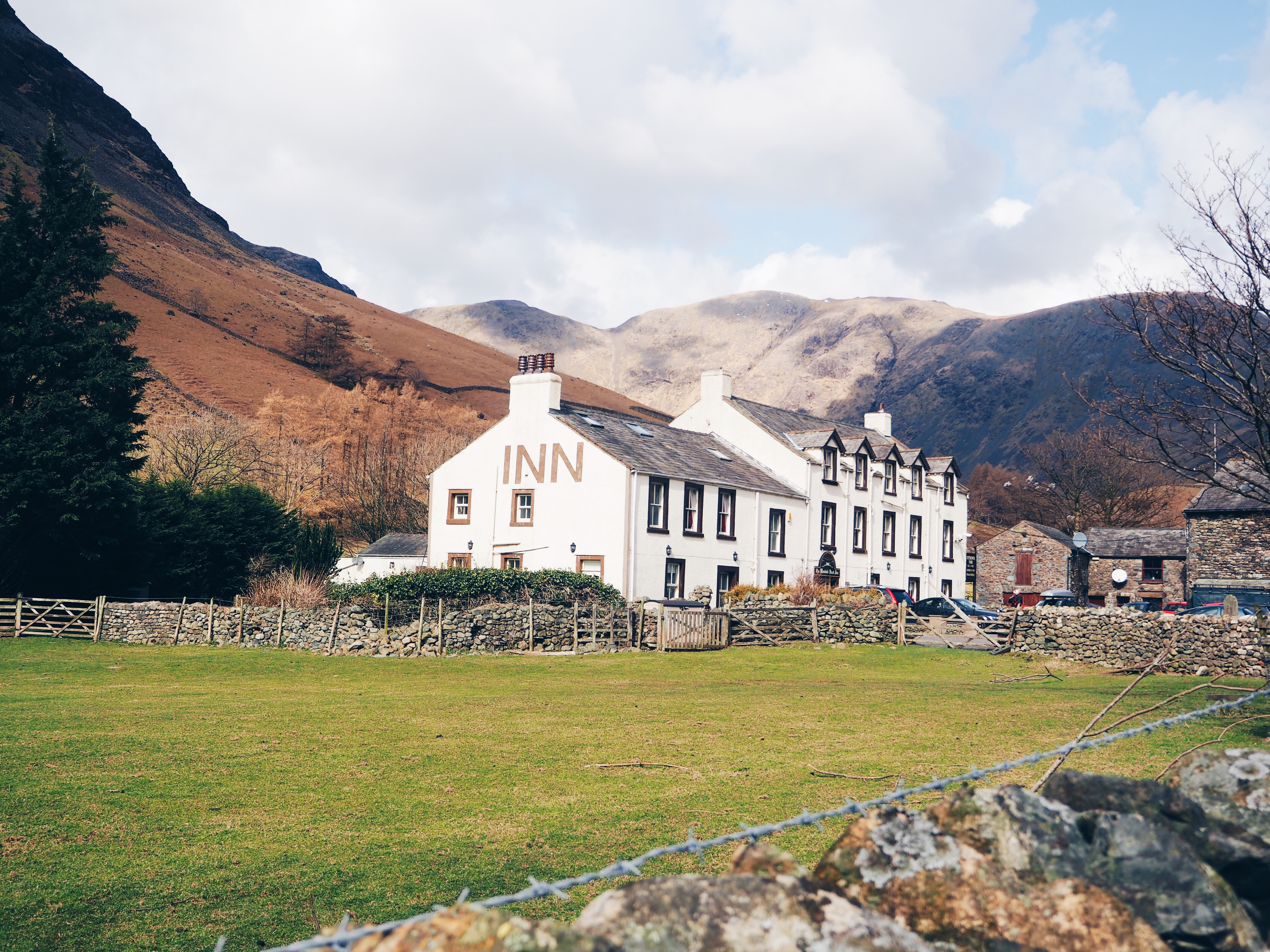 Places in the Lake District wasdale head pub
