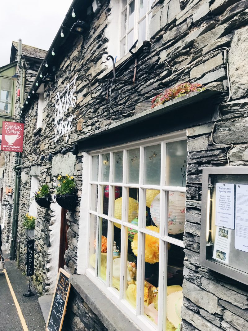 Lake District UK - Ambleside (Lake Windermere)