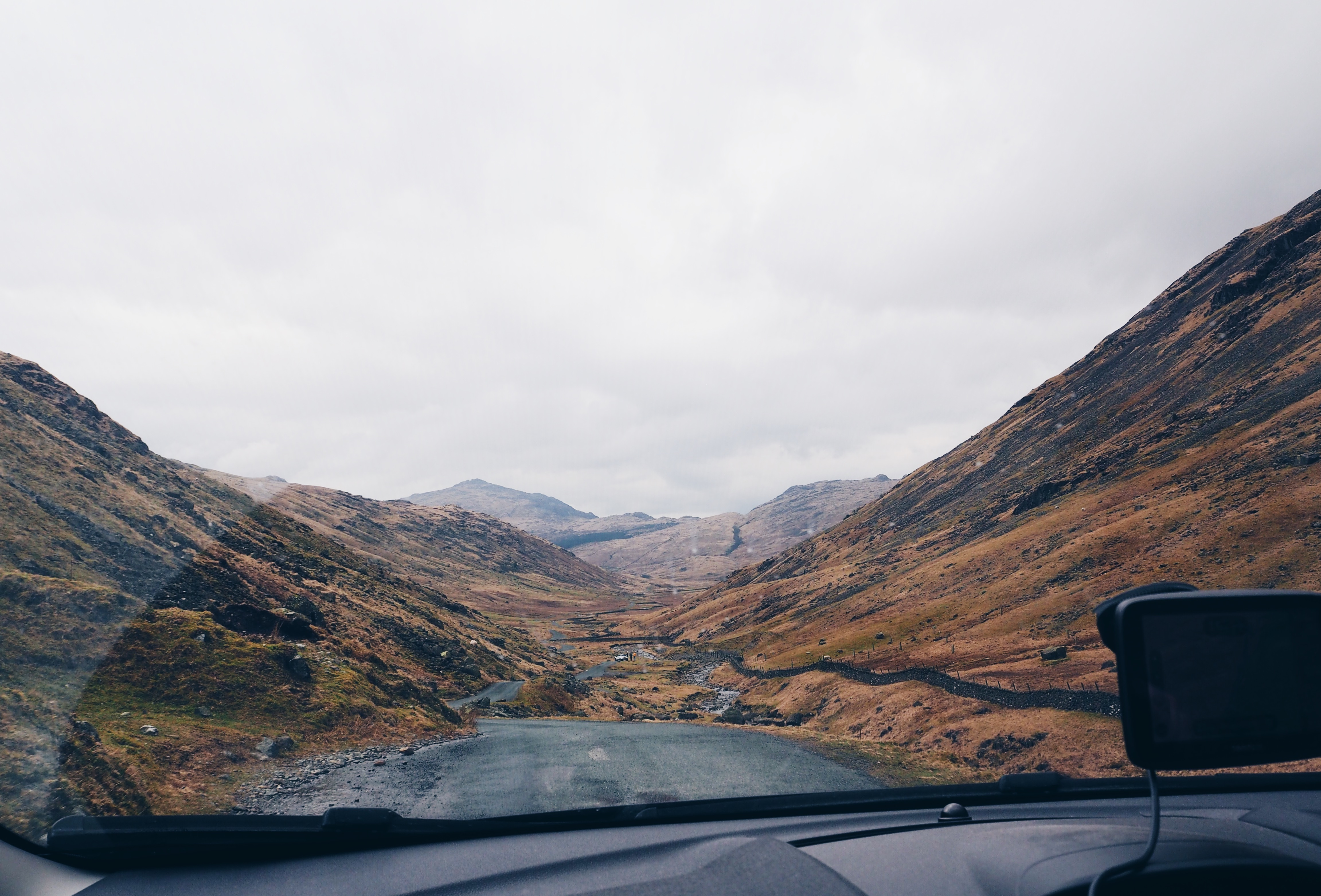 Lake district attractions Hardknott pass