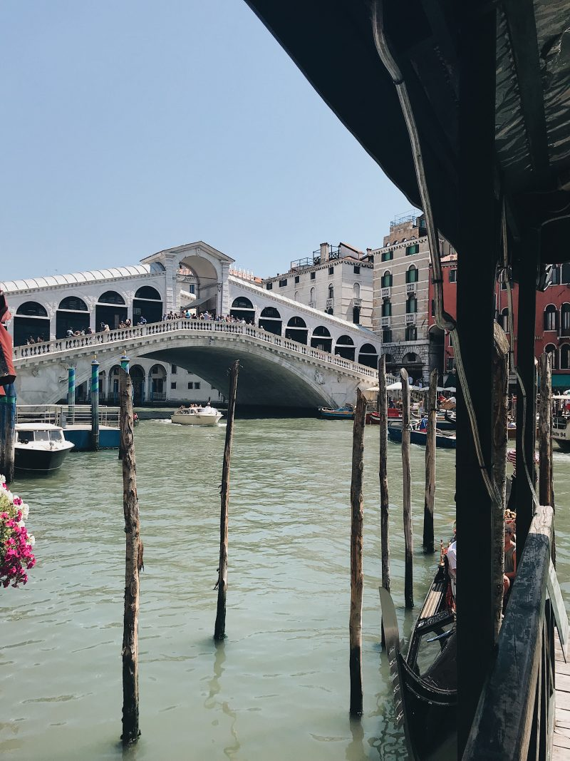 Things to see in Venice - rialto bridge