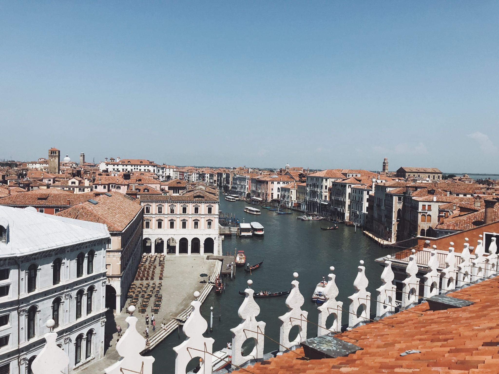 What to do in venice - rooftop views