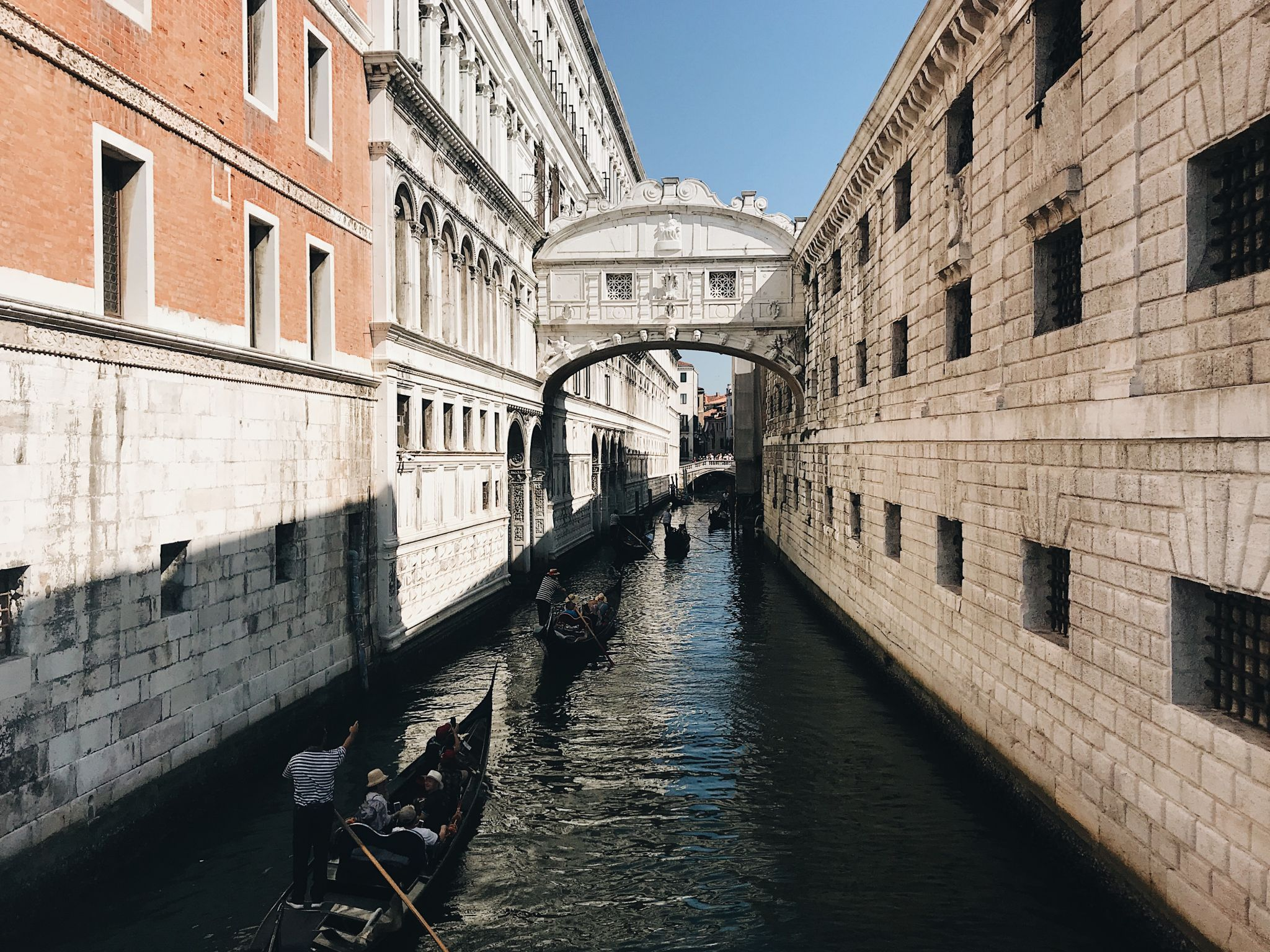 venice sightseeing - the bridge of sighs