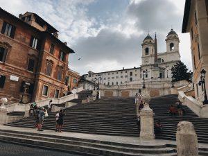 Week in Rome, Spanish steps