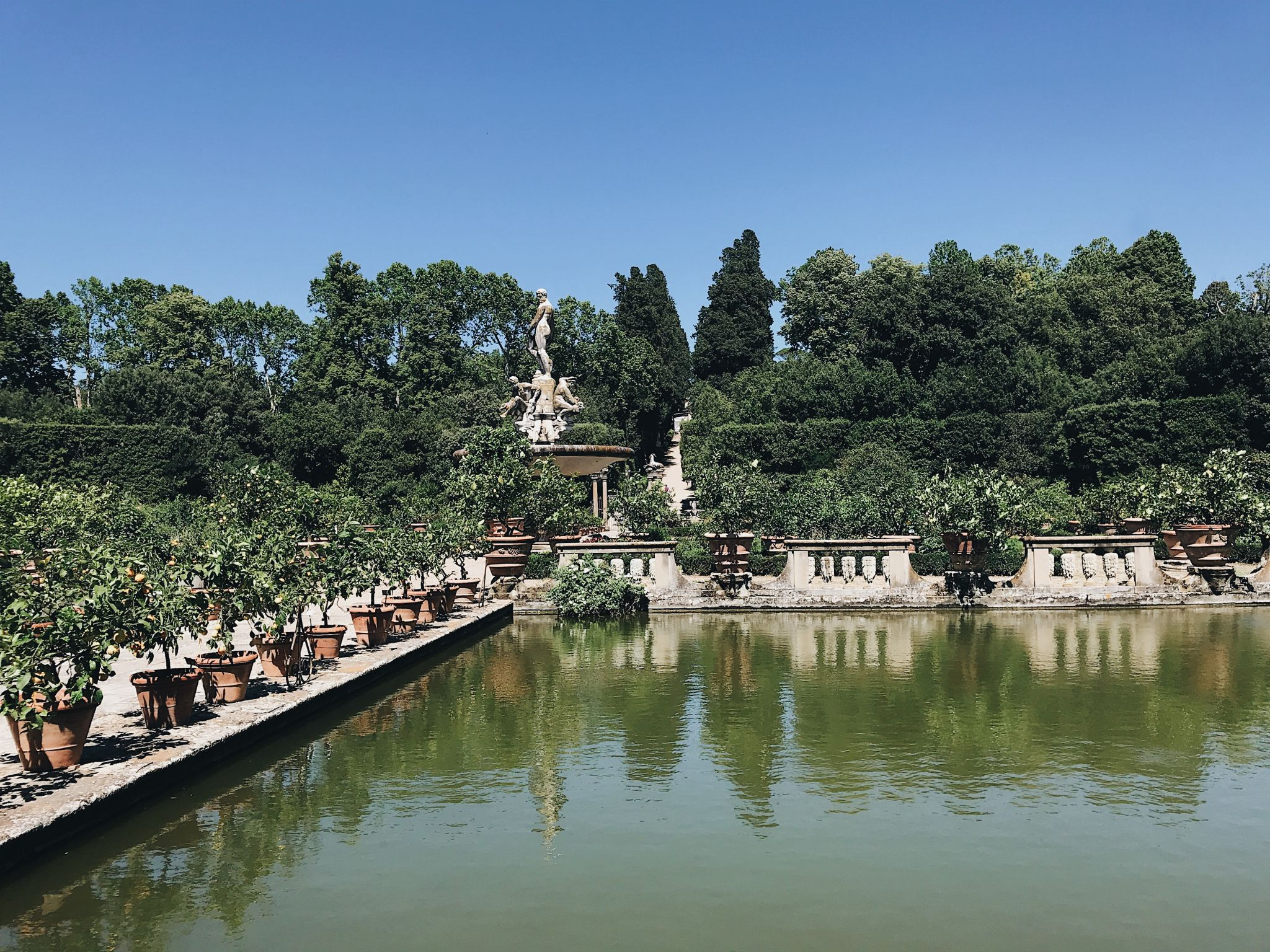 Florence in a day boboli gardens
