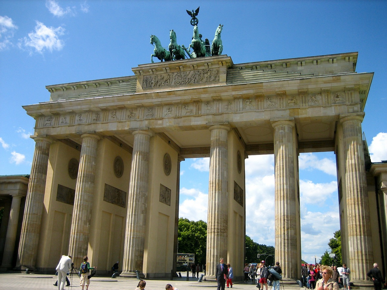 Berlin attractions Brandenburg Gate