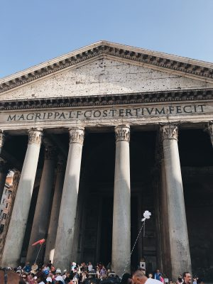 Week in Rome Pantheon