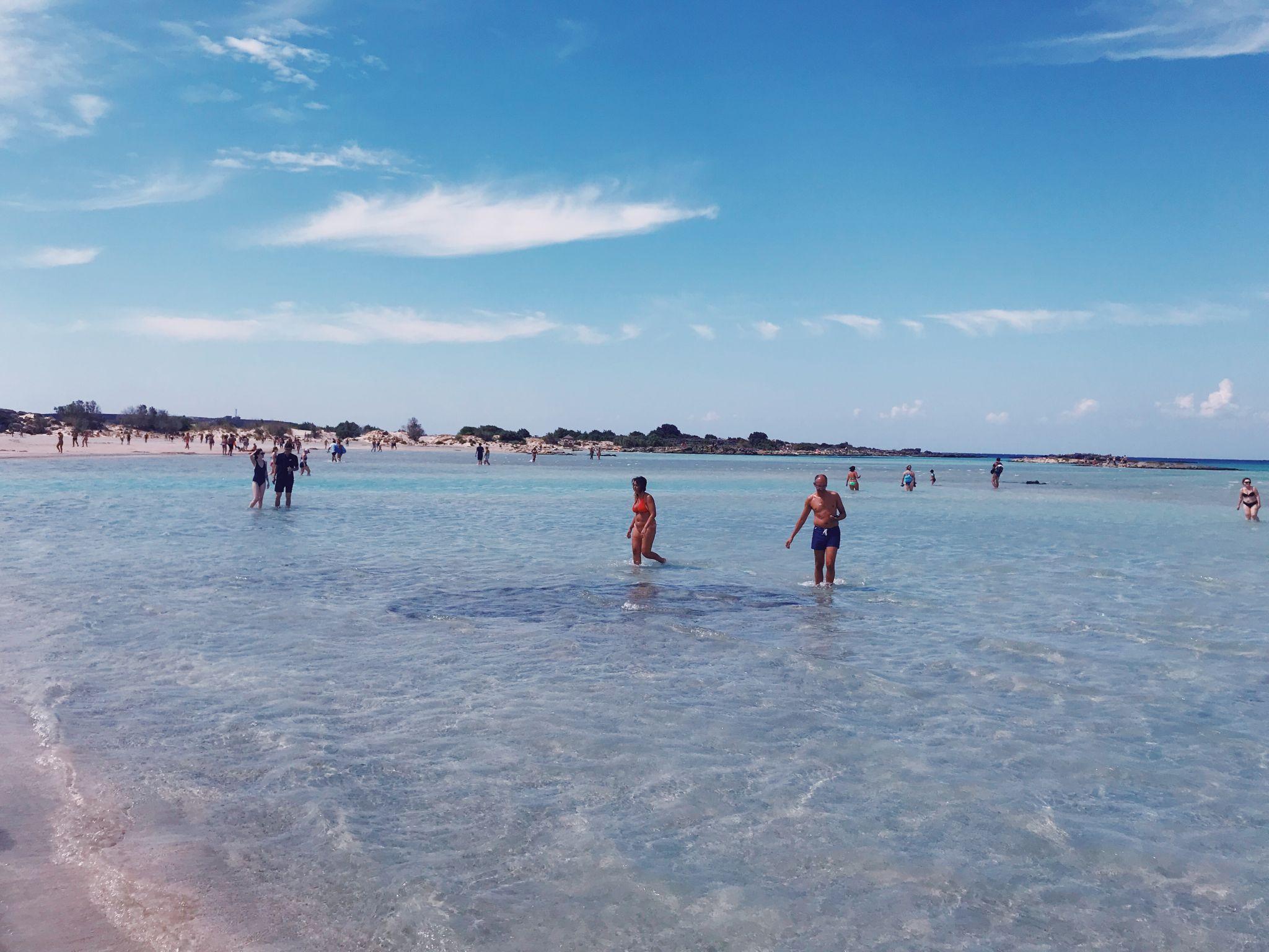 elafonisi lagoon