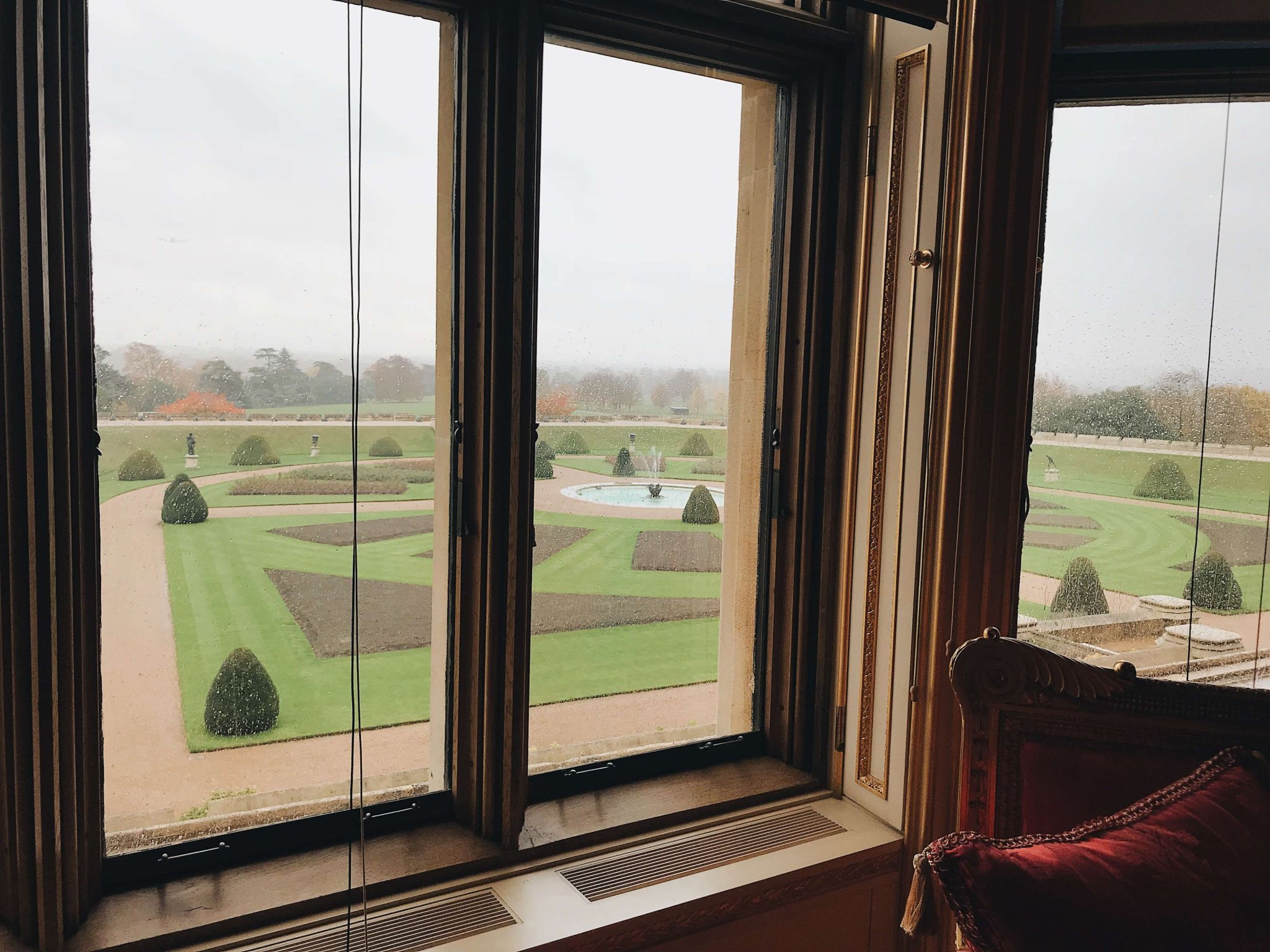 View From the Crimson Drawing Room visit windsor castle