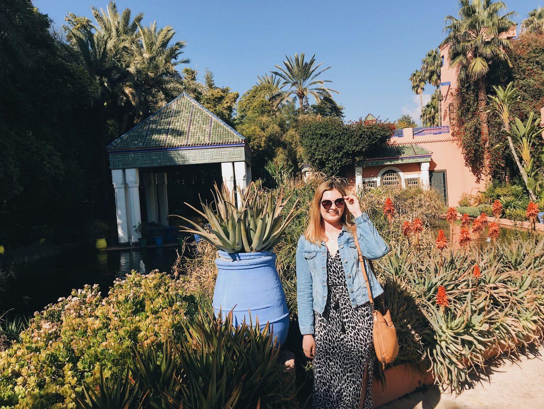 Majorelle Gardens Marrakech (cities to visit in Morocco)