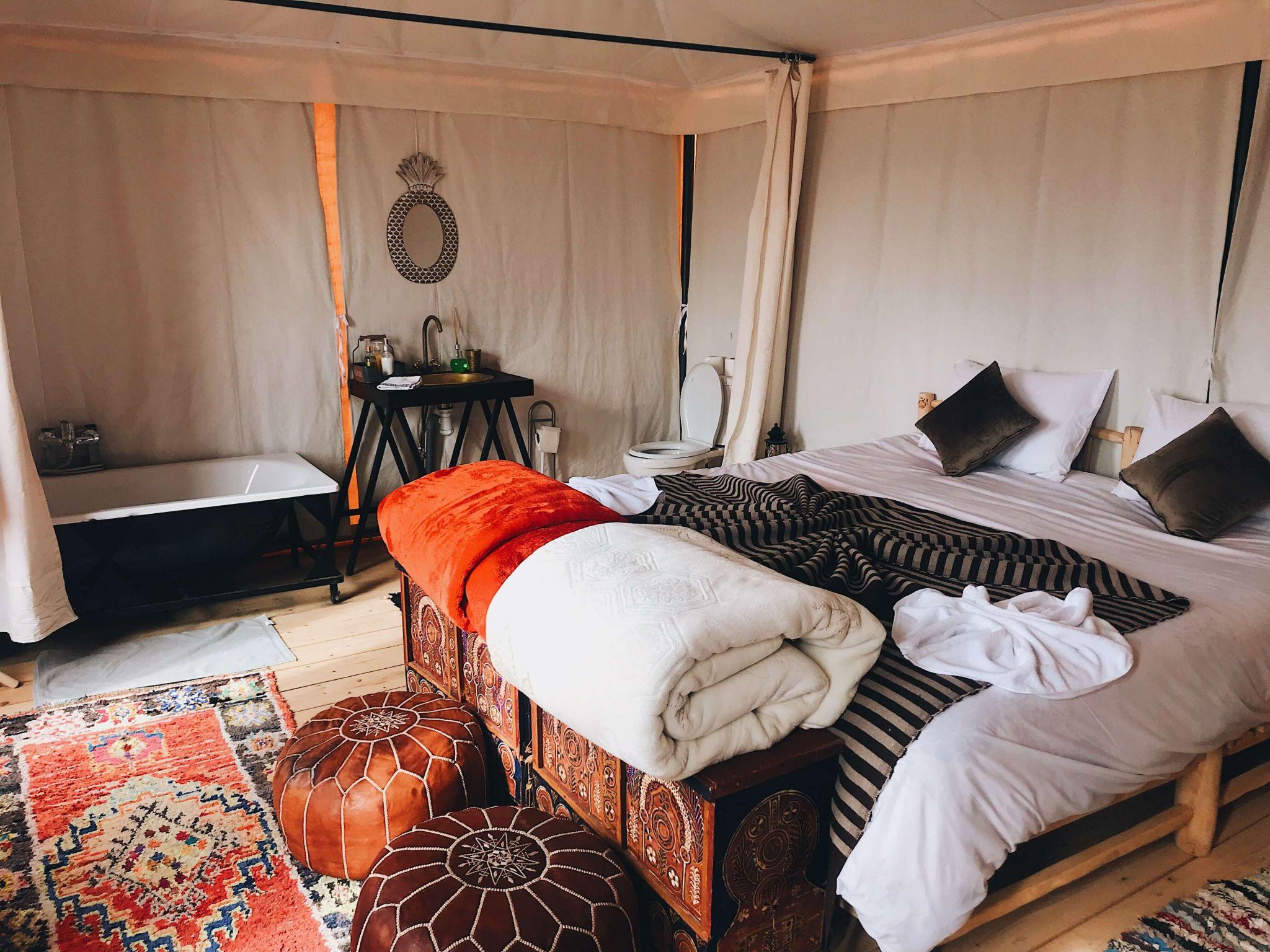 Camping Marrakech Agafay Desert