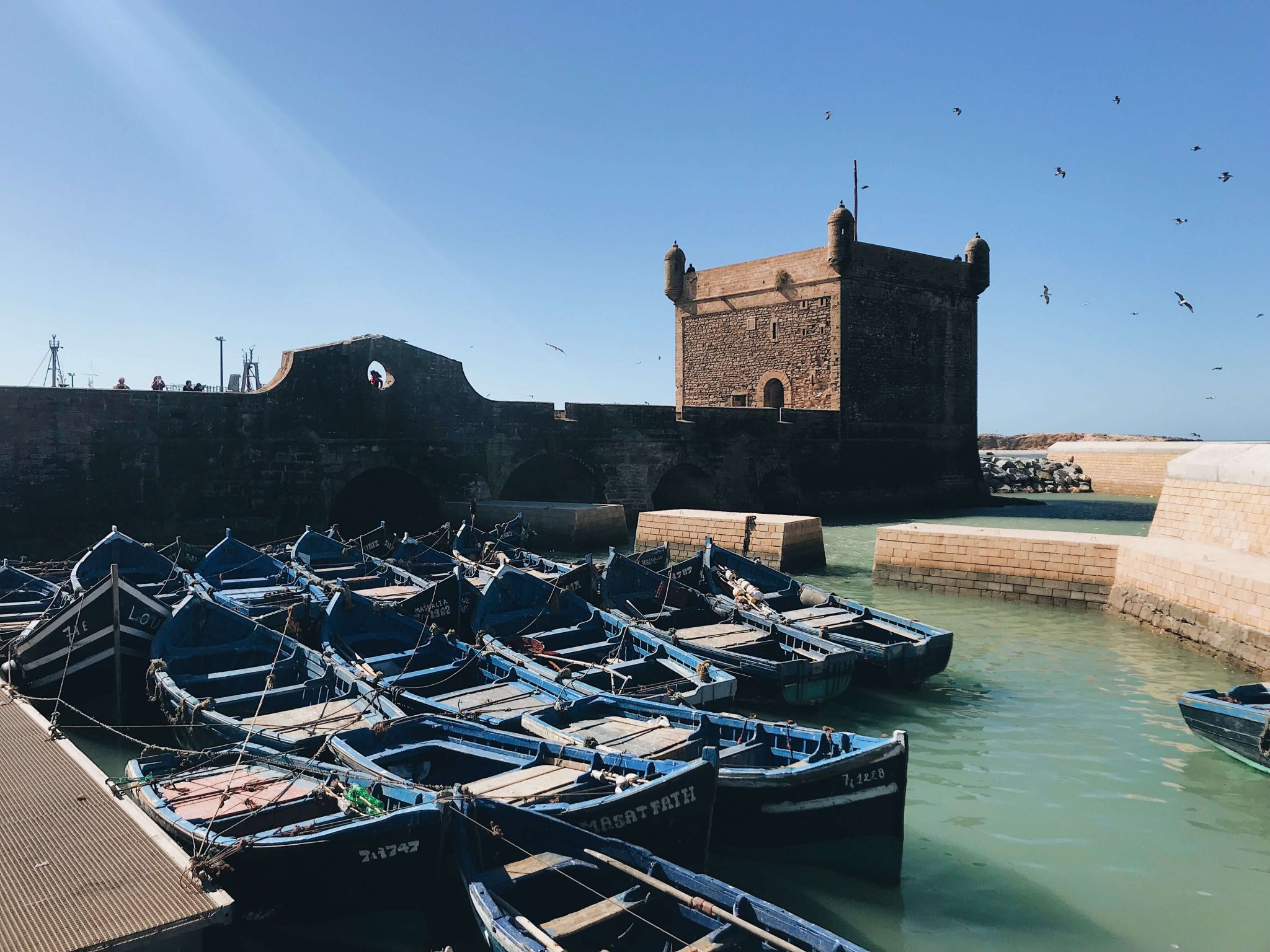 Essaouira game of thrones harbour scenes