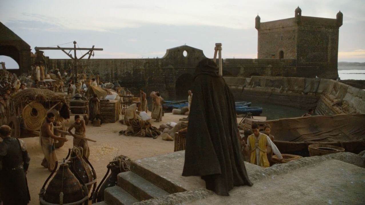 Astapor: Game of thrones set morocco