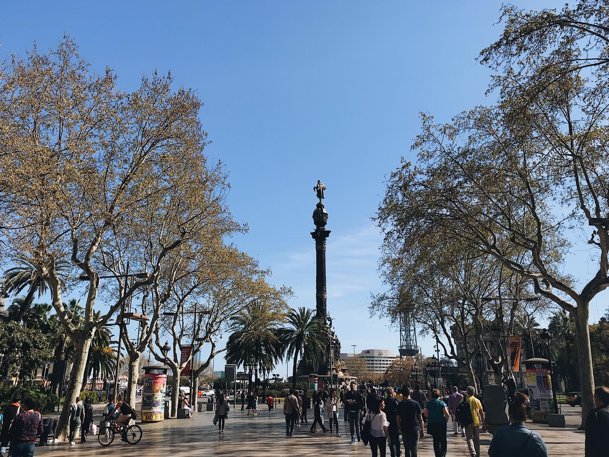 Barcelona Weekend: Columbus Monument