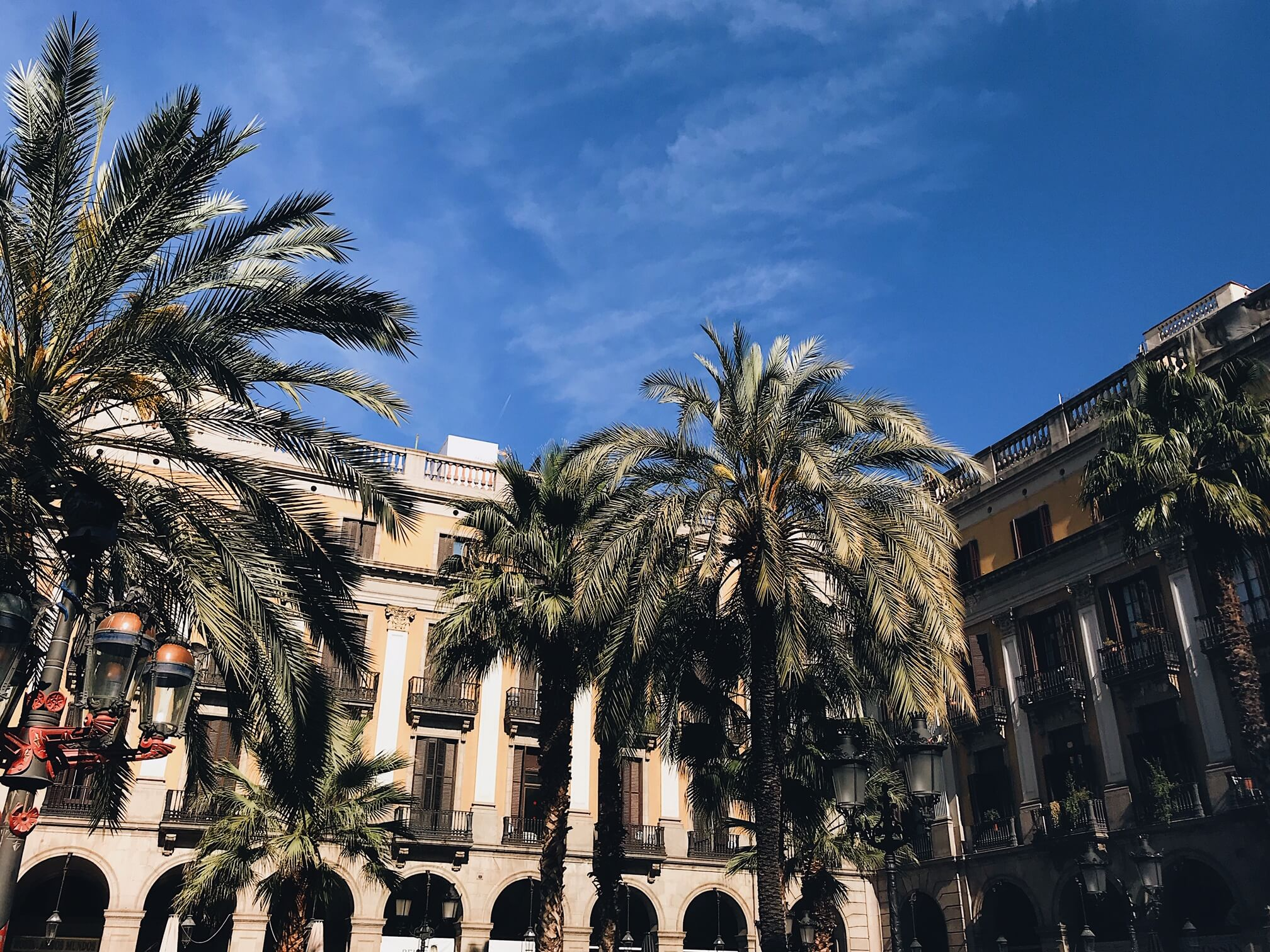 Plaça Reial: Barcelona in two days
