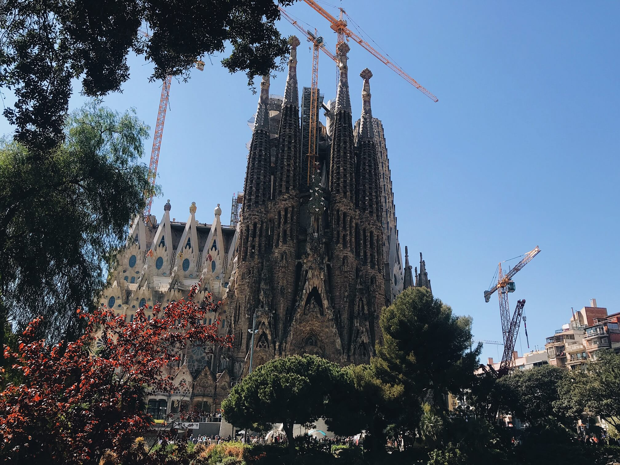 Sagrada Familia 'nativity facade'