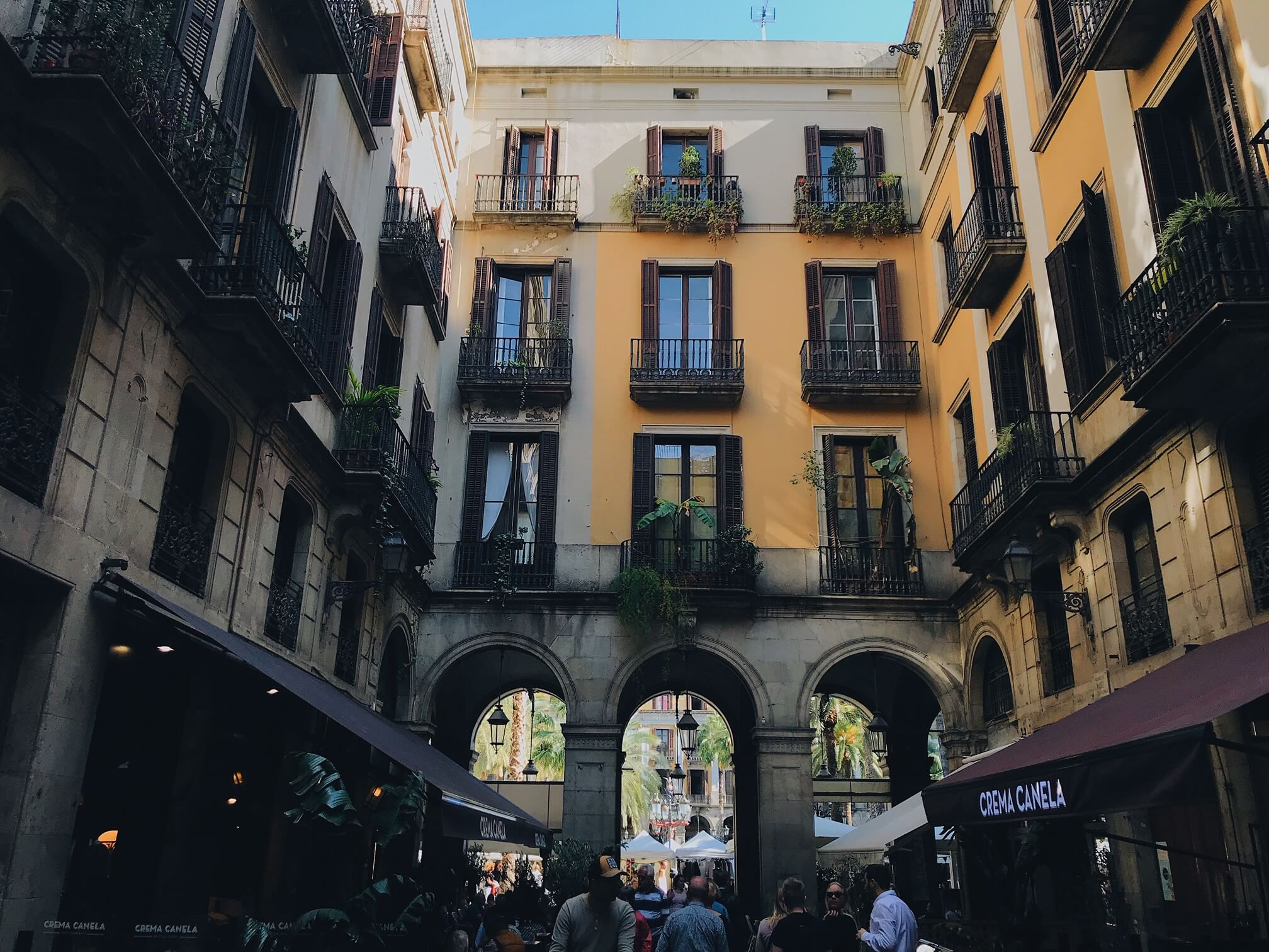 Things to do in Gothic Quarter Barcelona Placa Reial