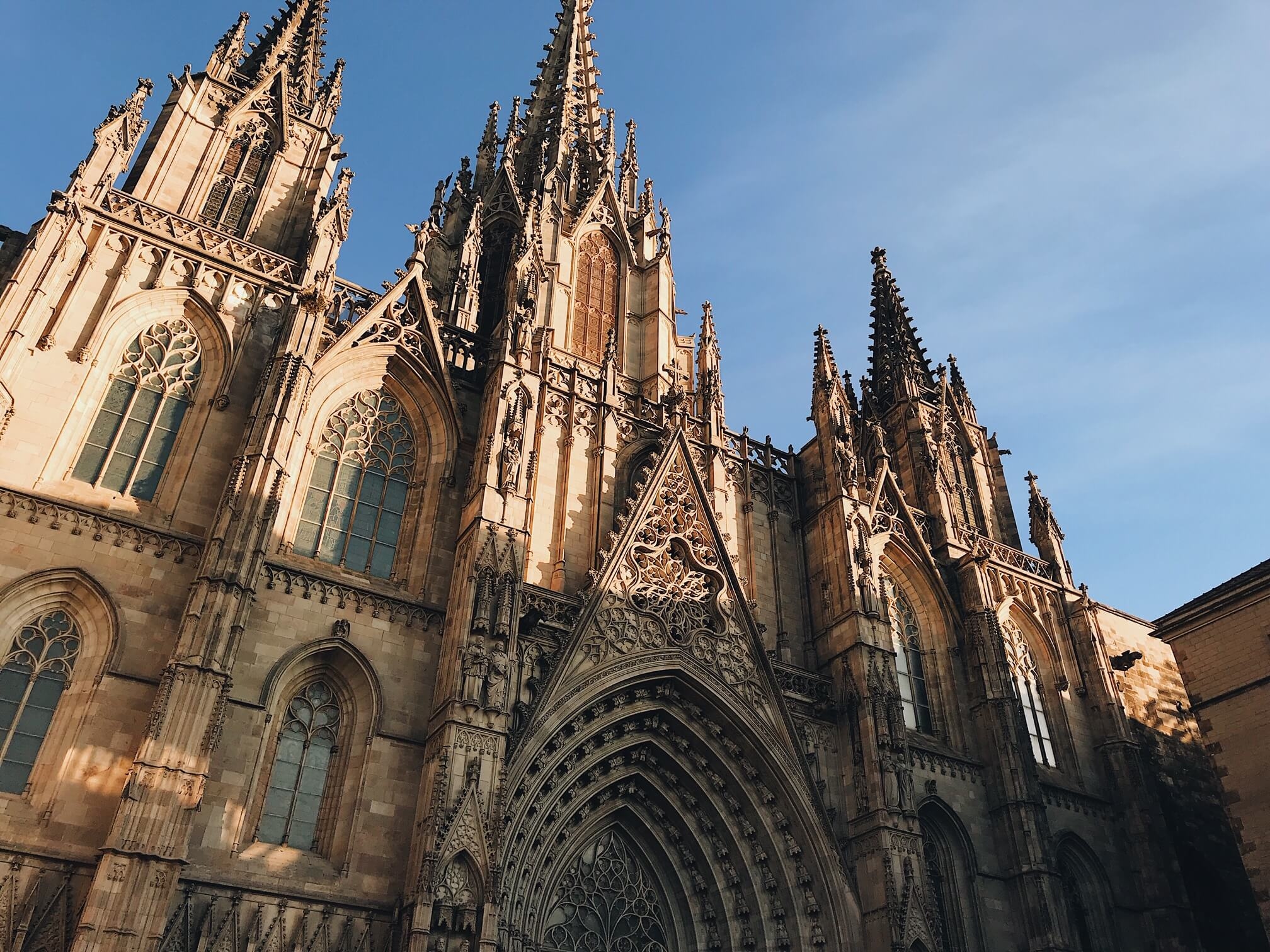 2 days in barcelona: Barcelona Cathedral