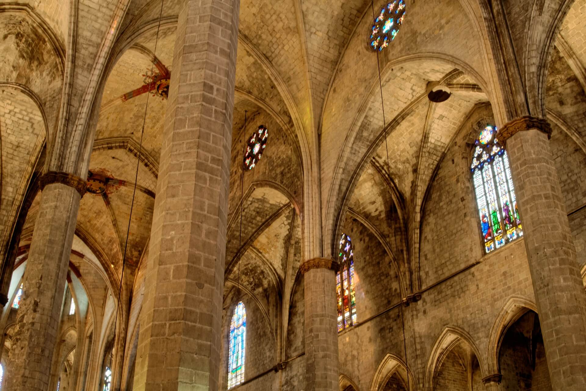 Things to do in the Gothic Quarter Barcelona Basilica of Santa Maria del Mar