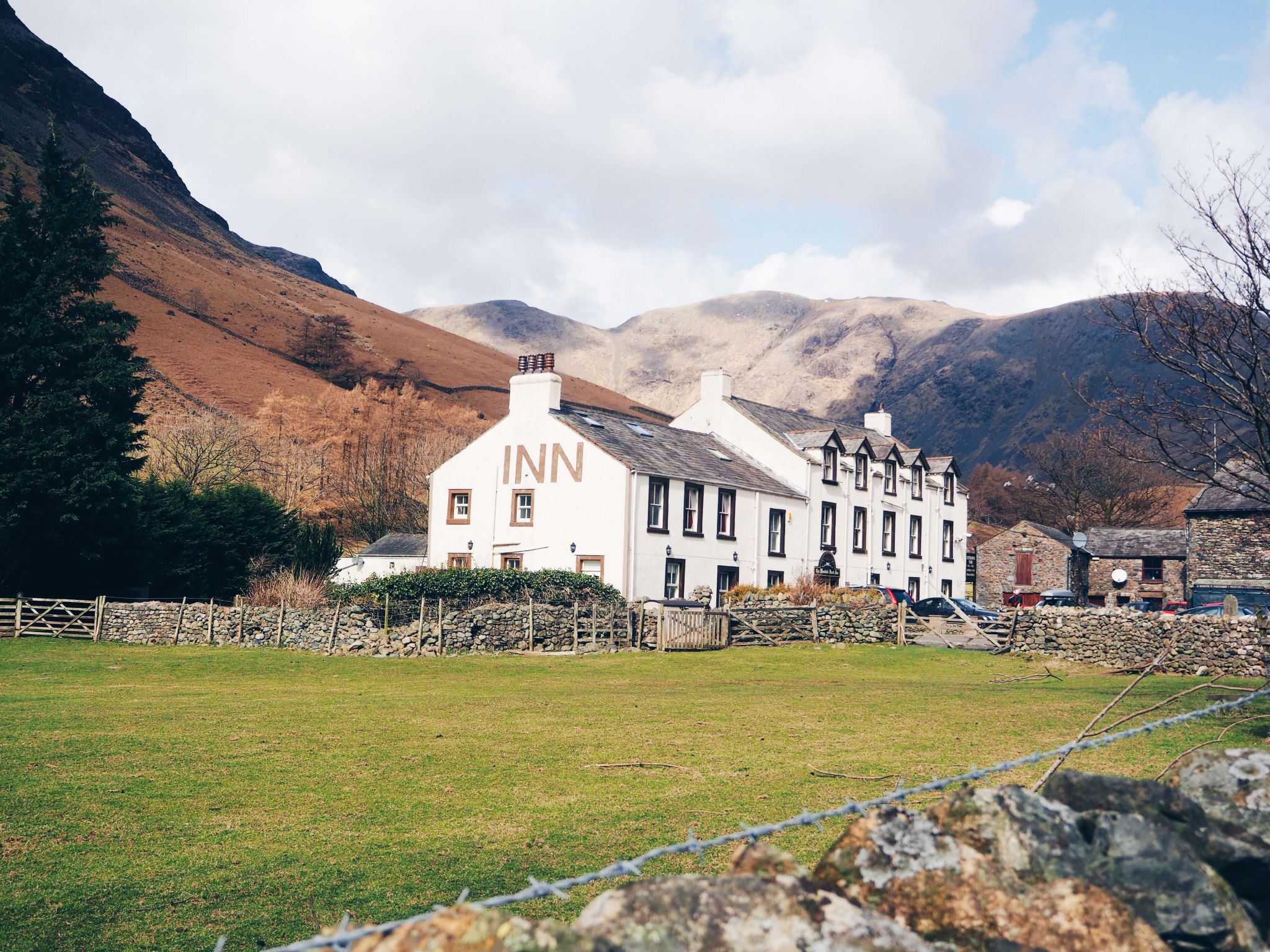 campsites near scafell pike wasdale head inn