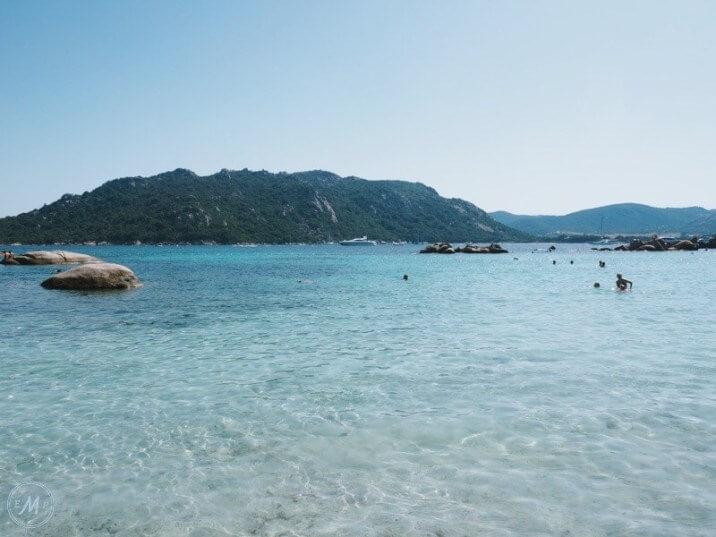 Porto-Vecchio Corsica Santa Giulia Beach