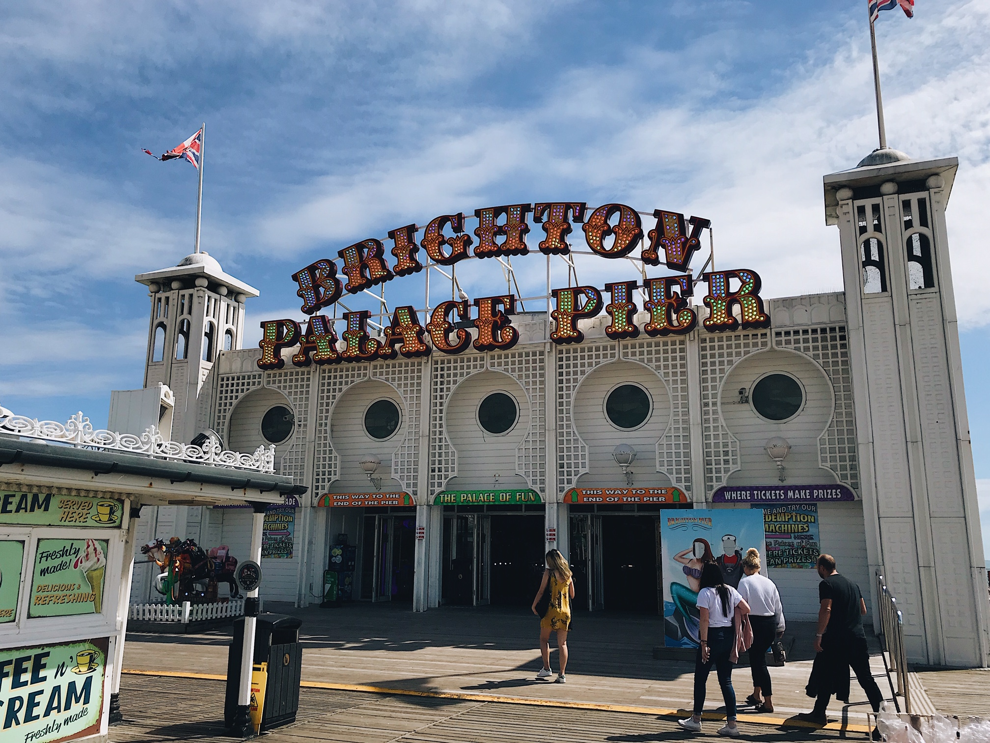 Brighton day trip: the Pier