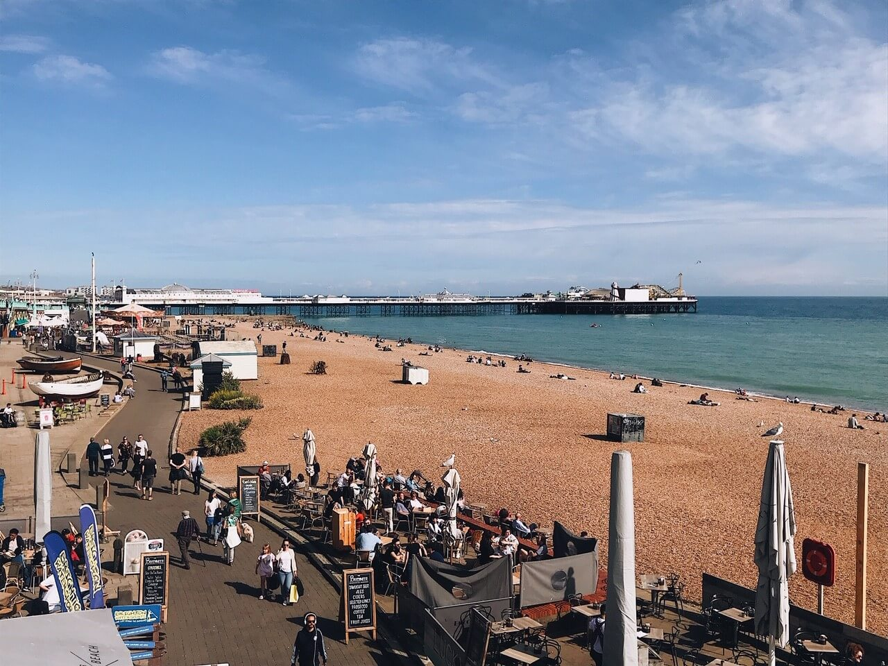 Day trip to Brighton: the beach