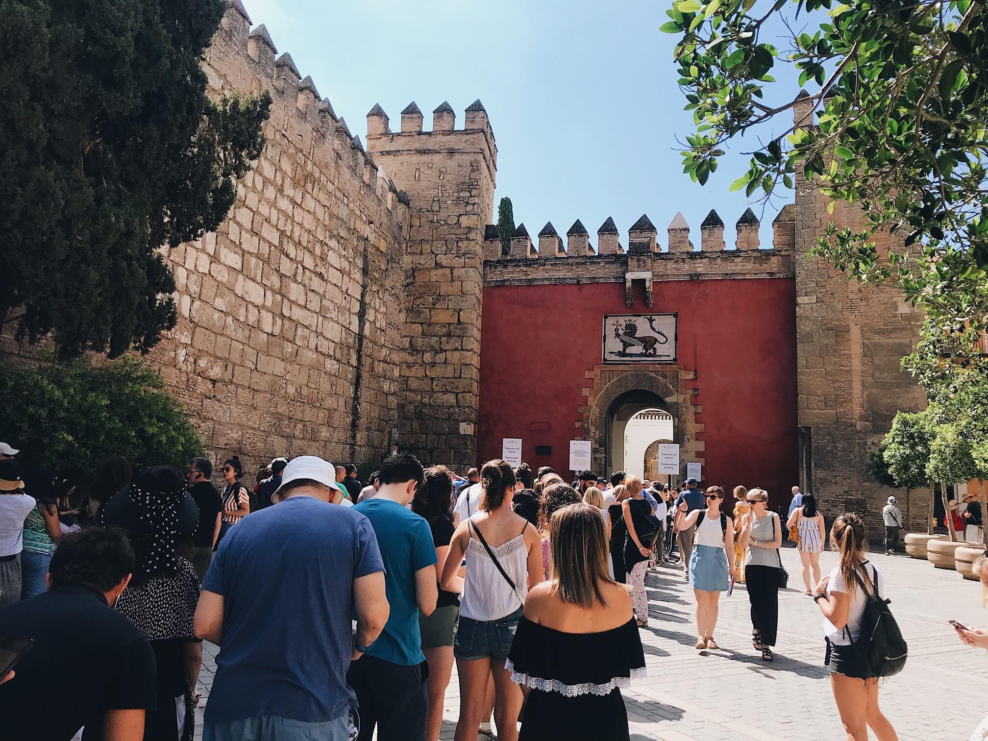 real alcazar Seville Itinerary