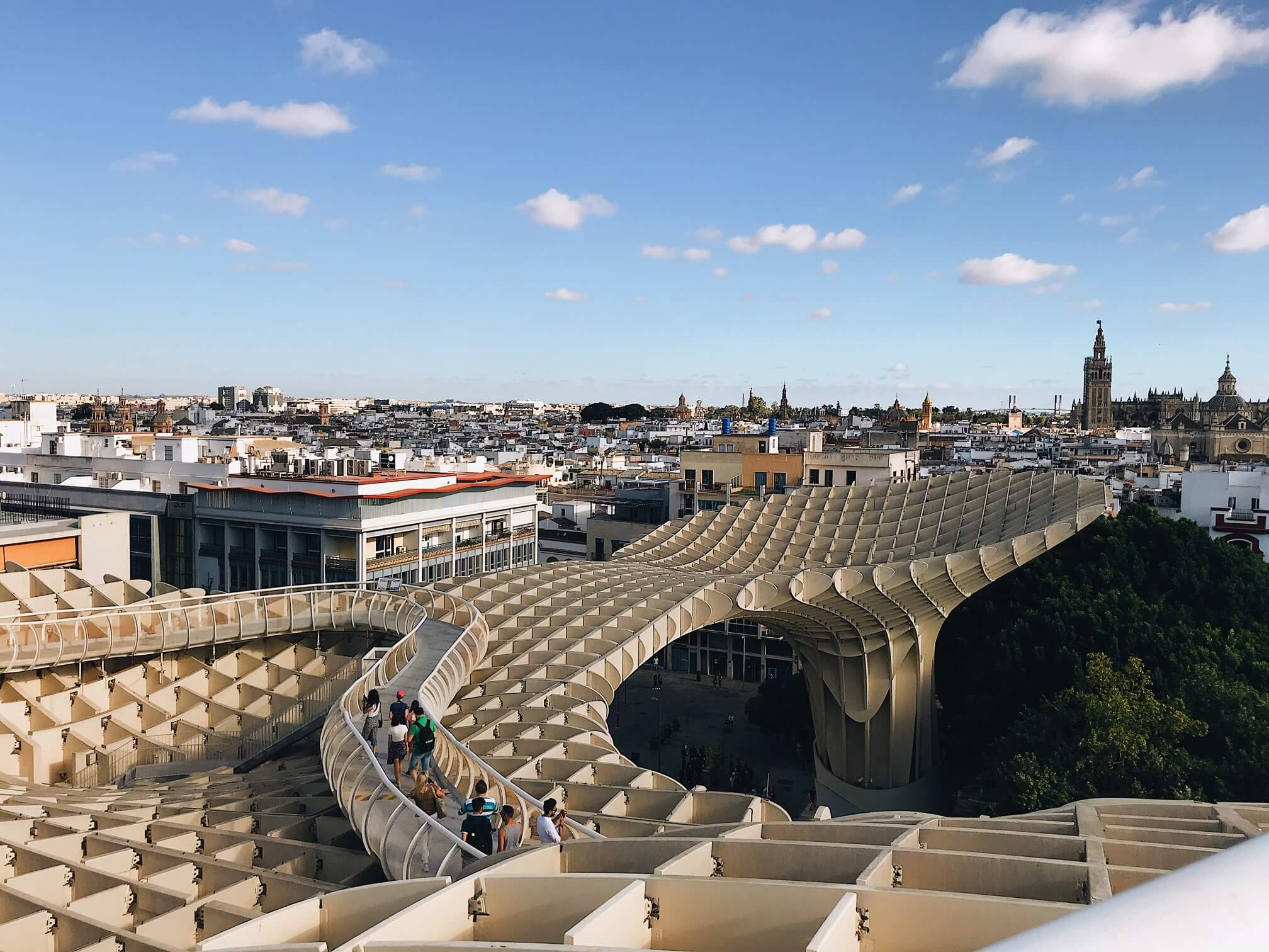 What to do in Seville Las Setas De Sevilla