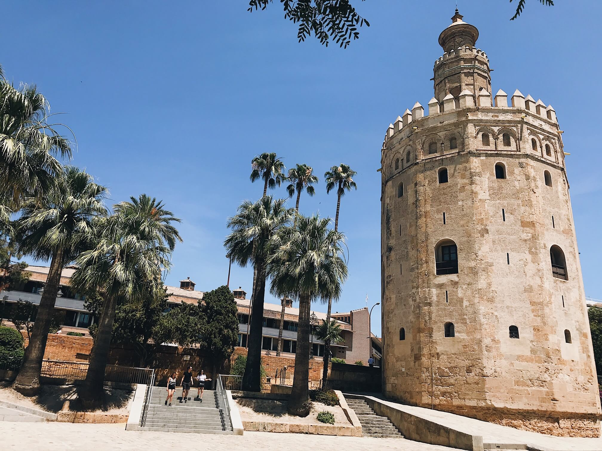 Seville Itinerary Torre del oro