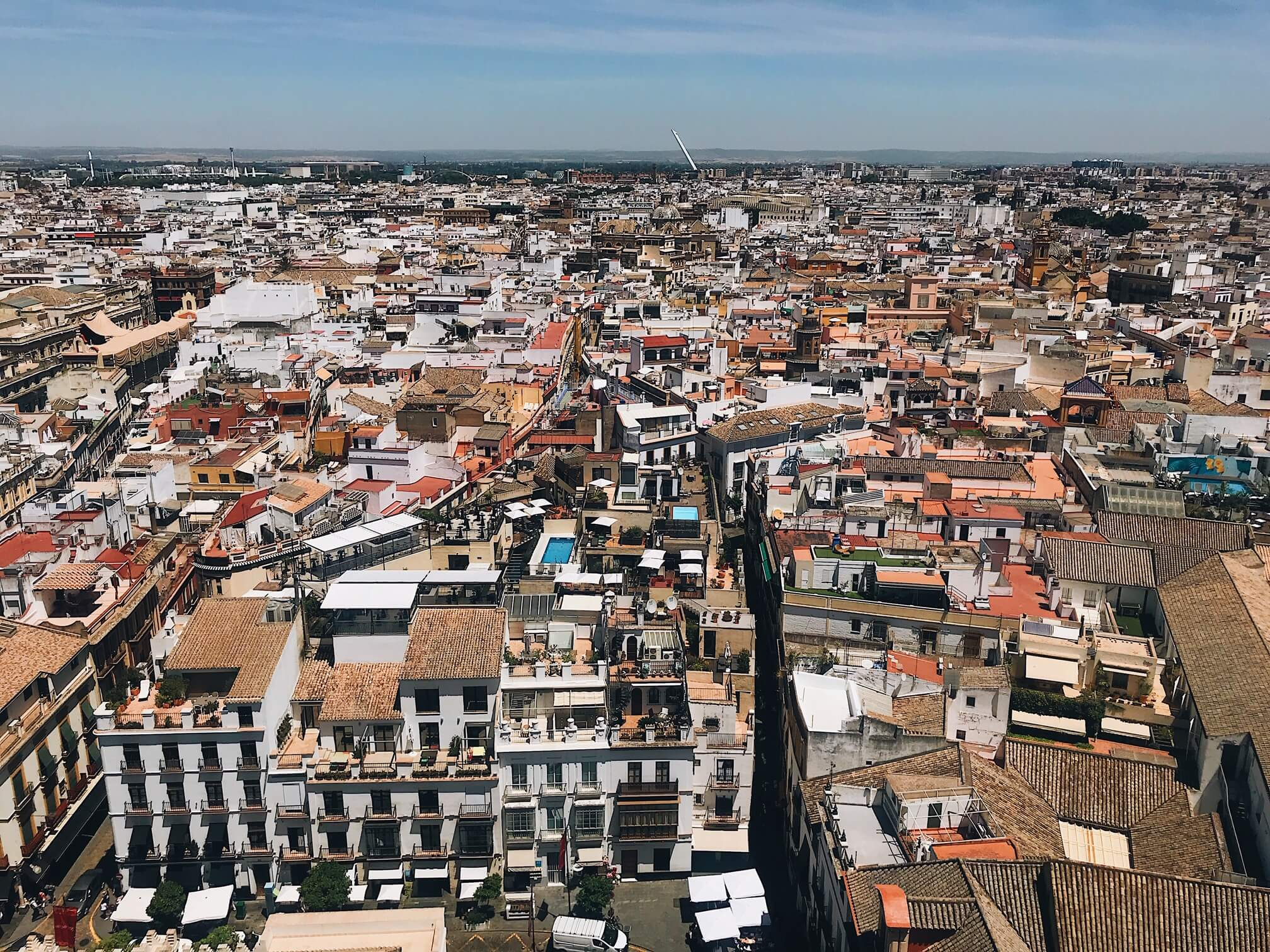 Giralda Bell Tower view (visit Seville)