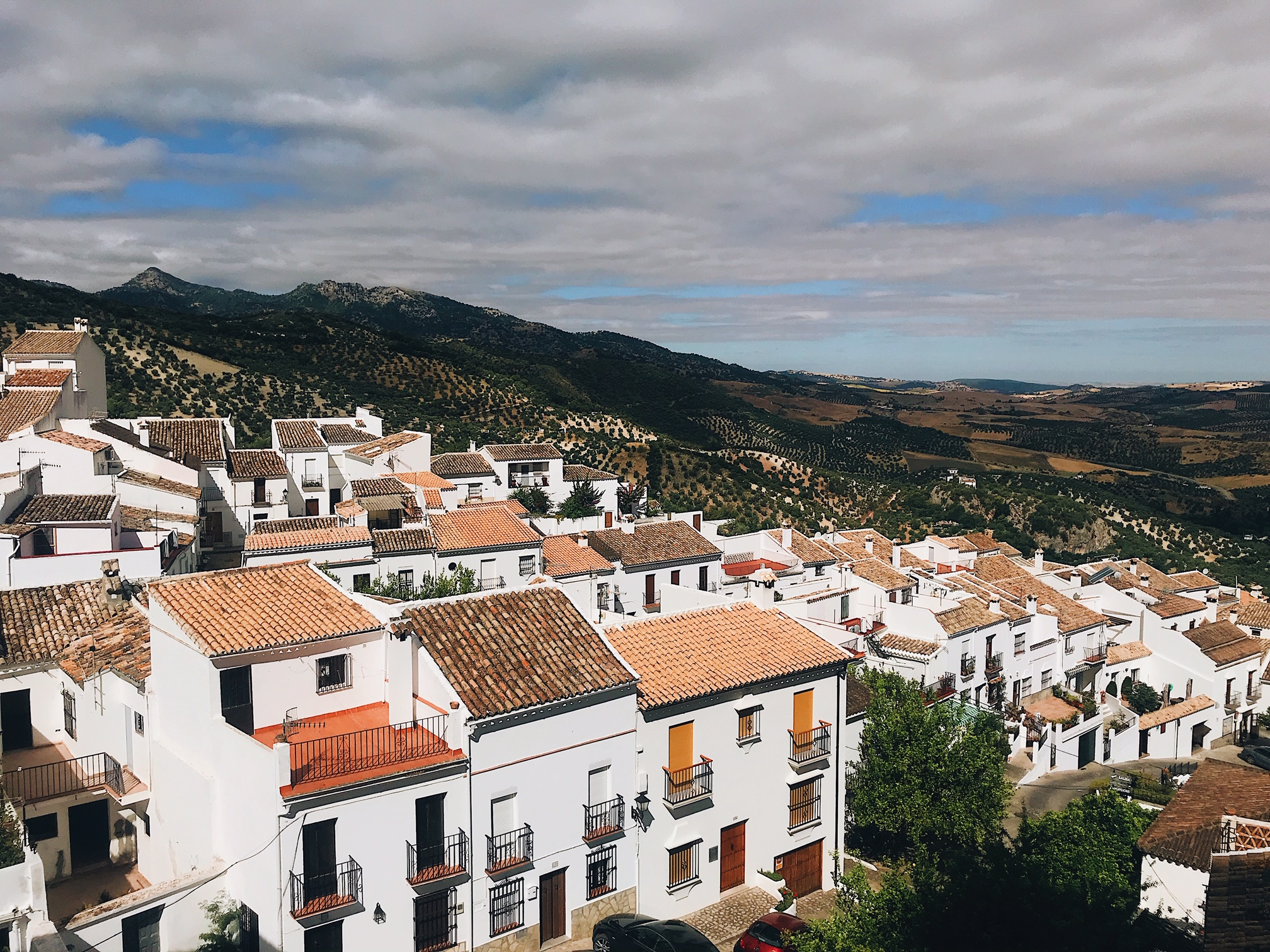 White villages tour from seville