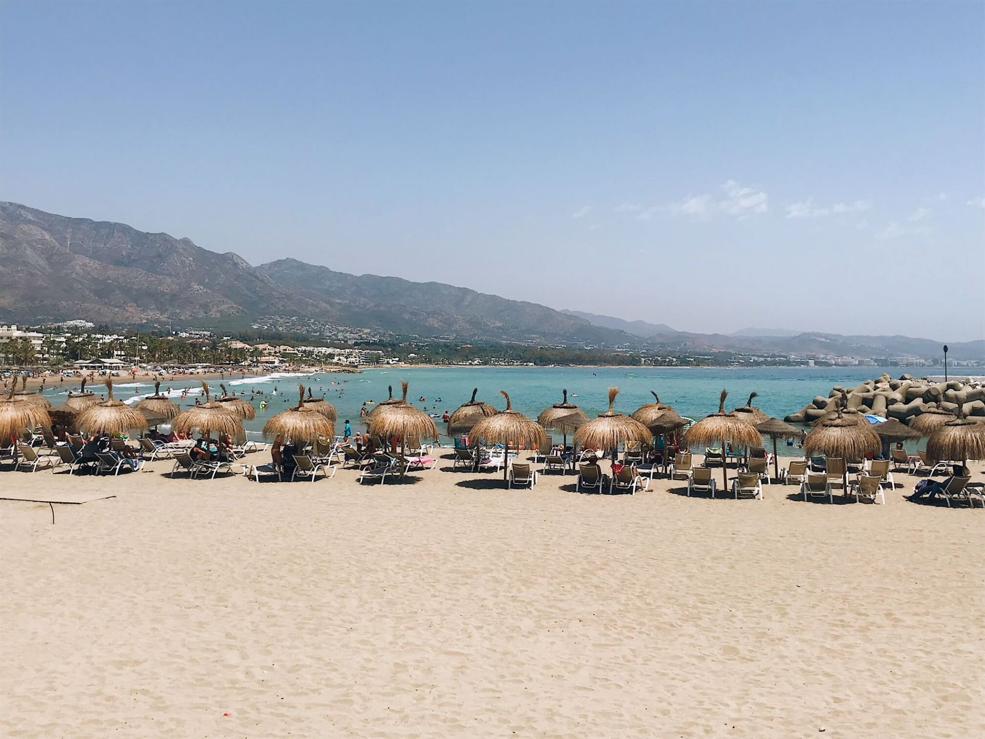 Lavante Beach (things to do in Marbella Spain)