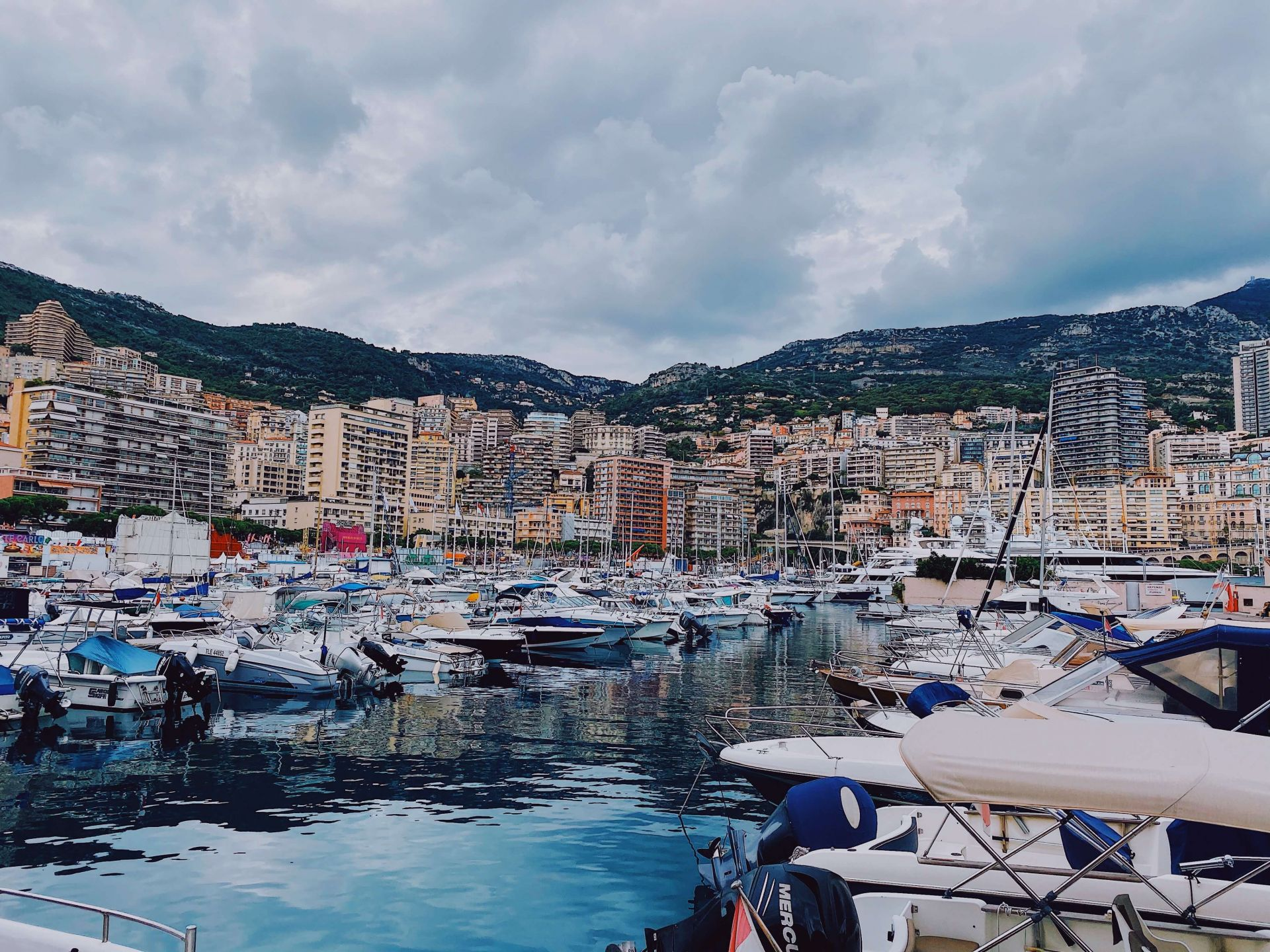 Places to visit in Monaco Port Hercules