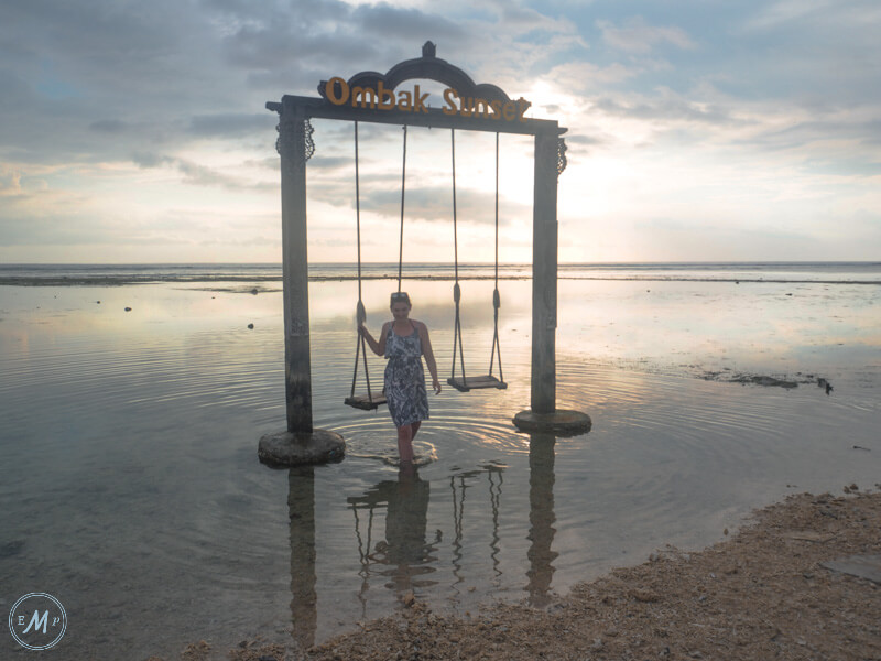 Gili Trawangan Sightseeing Ombok Sunset Beach