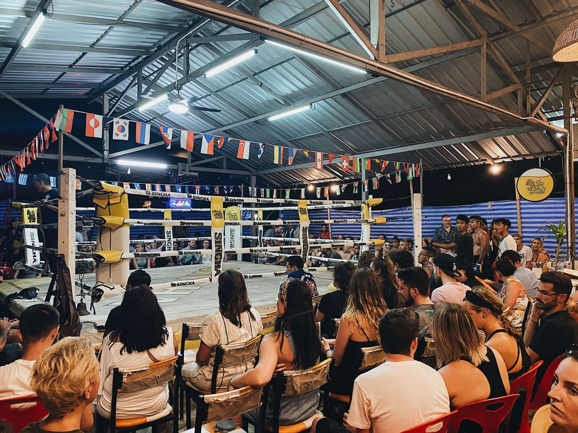 one week in Thailand (Thai Boxing)