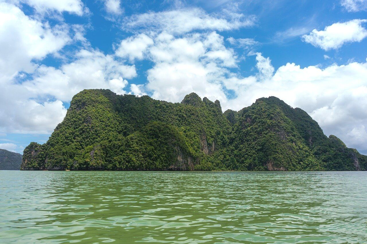 Phang Nga Bay from Krabi