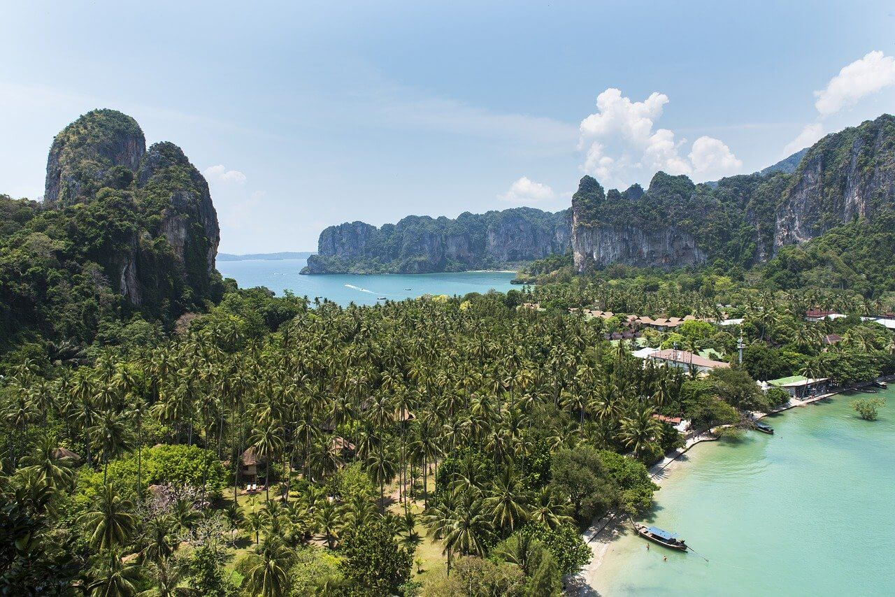 Thailand island hopping itinerary railay