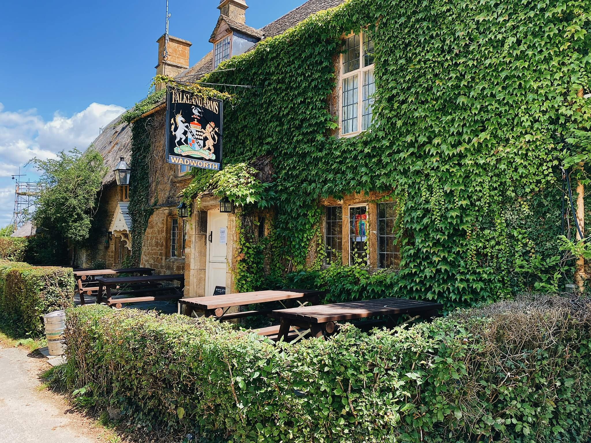Best pubs in the Cotswolds Falkland Arms